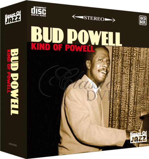 BUD POWELL: Kind of Powell - SBĚRATELSKÁ EDICE (10CD)