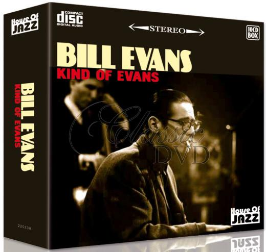 BILL EVANS: Kind of Evans - SBĚRATELSKÁ EDICE (10CD)