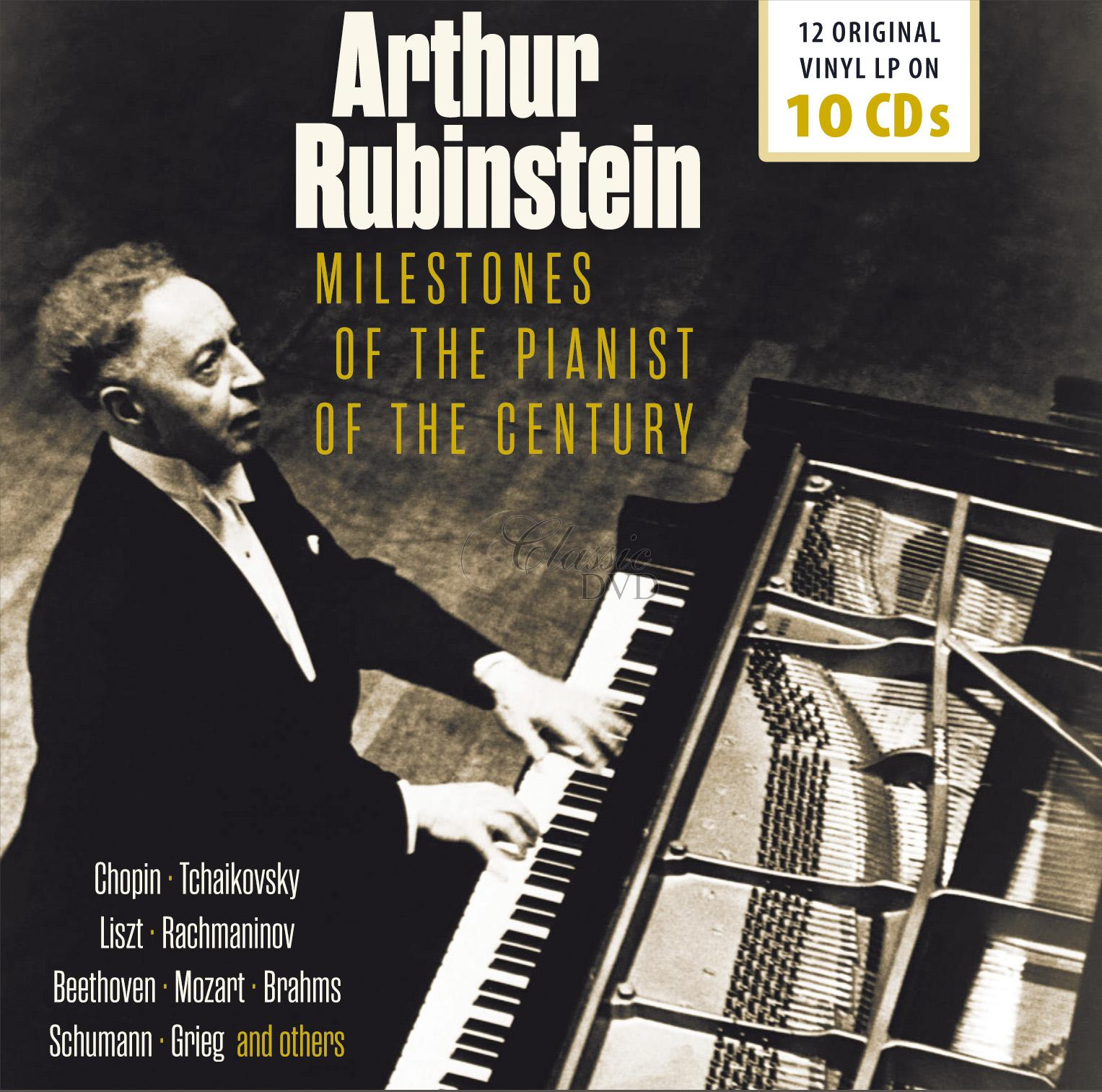 Arthur Rubinstein - Milestones of the Pianist of the Century (10CD)