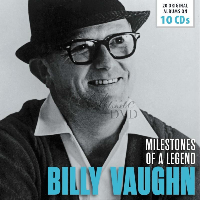 Billy Vaughn: Milestones of a Legend - 20 Original Albums (10CD)