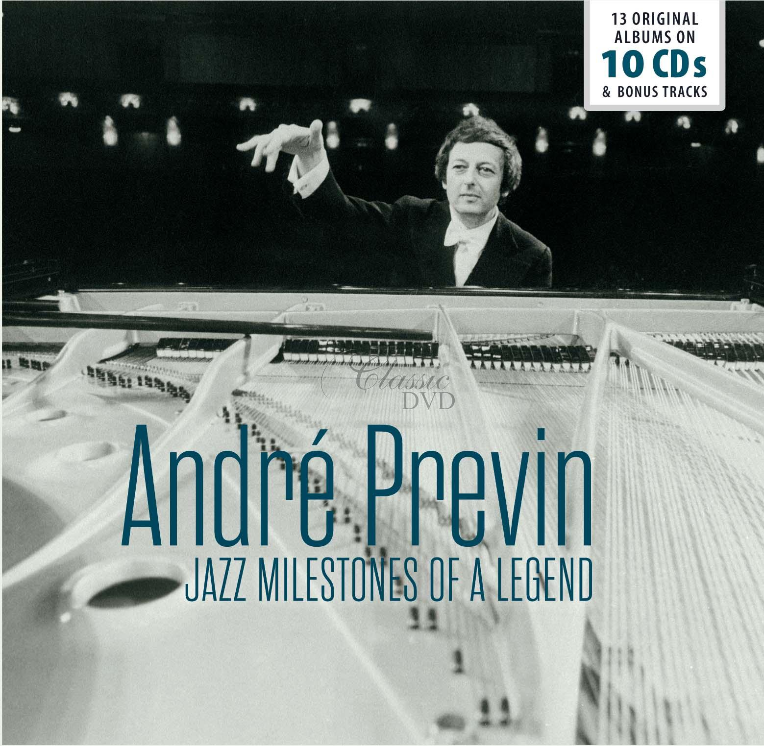 ANDRE PREVIN: Jazz Milestones Of A Legend - 13 Original Albums (10CD)