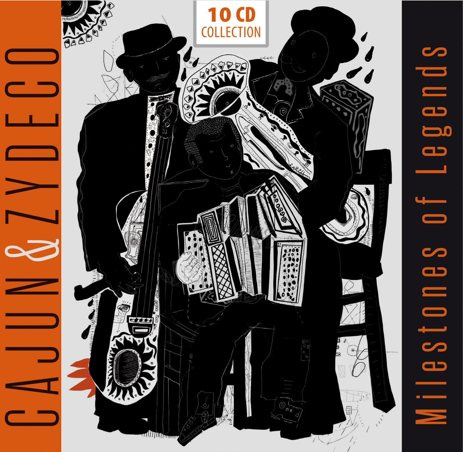 Cajun and Zydeco - Milestones Of Legends (10CD)