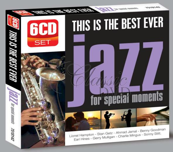 JAZZ: The Best Ever - DÁRKOVÁ EDICE (6CD)