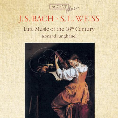 BACH-WEISS: Lute Music of the 18th Century (CD)