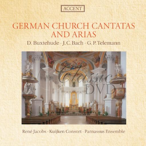 BUXTEHUDE-BACH: German church cantatas and arias (CD)