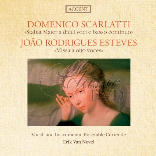 SCARLATTI-RODRIGUES ESTEVES: Stabat Mater; Mass a 8 voices (CD)
