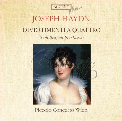 HAYDN,J.: Divertimenti a quattro (CD)
