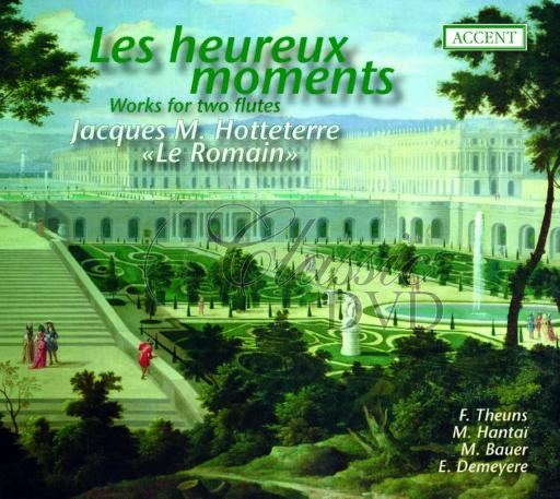 HOTTETERRE,J.: Works for two flutes (CD)