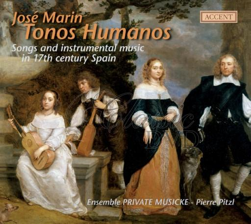 TONOS HUMANOS: Songs & Music in 17th Century Spain (CD)
