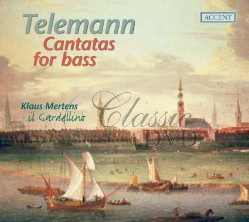 TELEMANN,G.P.: Cantatas for Bass (CD)