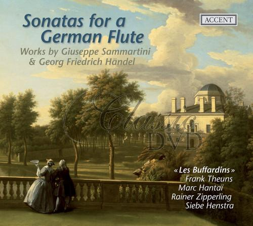 HÄNDEL-SAMMARTINI: Sonatas for a German Flute (CD)