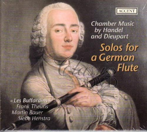 HÄNDEL-DIEUPART: Solos for a German Flute (CD)