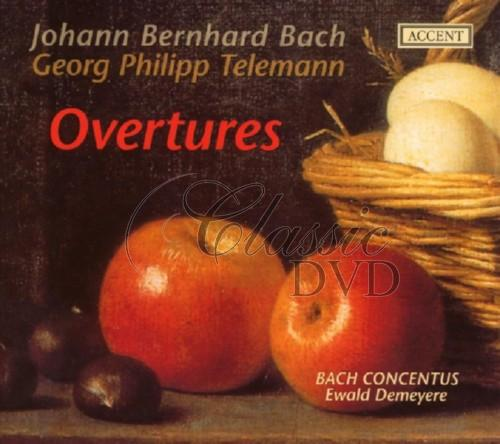 BACH,J.B.-TELEMANN: Overtures (Bach Concentus) (2CD)