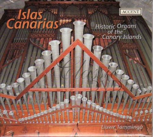 ISLAS CANARIAS: Historic Organs of the Canary Islands (CD)