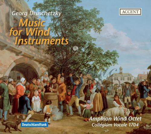 DRUSCHETZKY,G.: Music for Wind Instruments [Collegium Vocale] (CD)