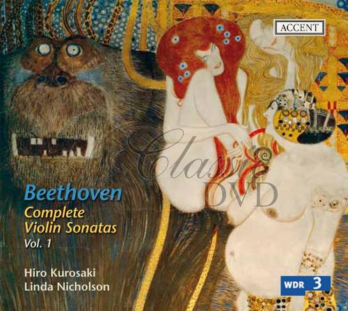 BEETHOVEN,L.V.: Complete Violin Sonatas Vol.1 - on original instruments (CD)