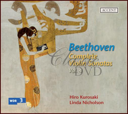BEETHOVEN,L.V.: Complete Violin Sonatas Vol.4 - on original instruments (CD)