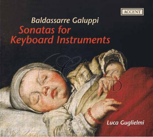 GALUPPI,B.: Sonatas for Keyboard Instruments [Luca Guglielmi] (CD)