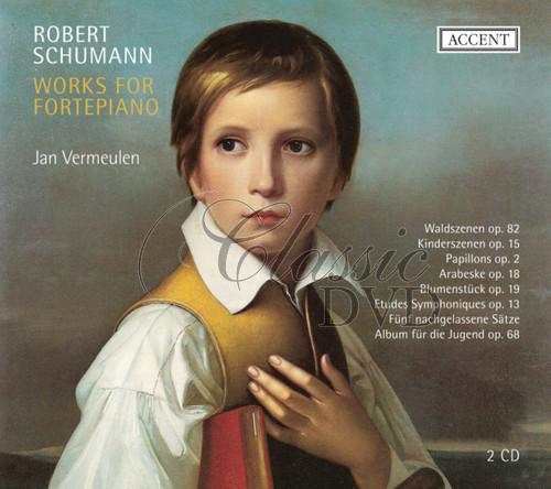 SCHUMANN,R.: Works for fortepiano (2CD)