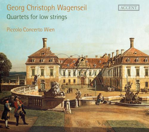 Georg Christoph Wagenseil QUARTETS FOR LOW STRINGS (2CD)