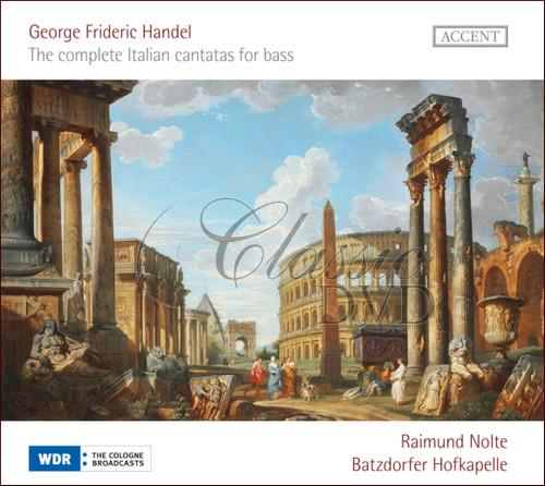 HÄNDEL,G.F.: The complete Italian cantatas for bass (CD)