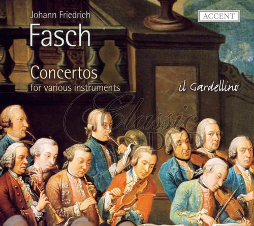 FASCH,J.F.: Concertos for various instruments (CD)