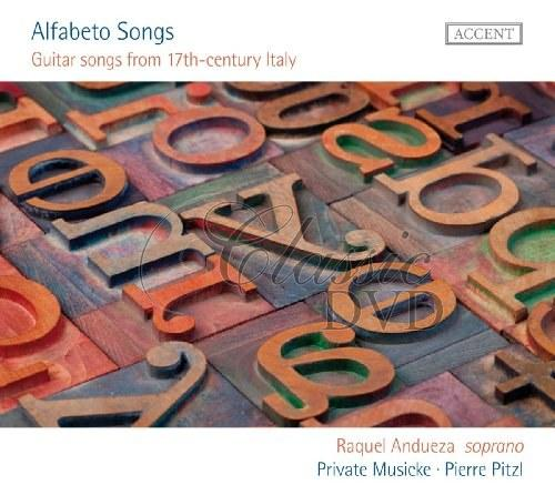 Alfabeto Songs: Guitar songs from 17th-century Italy (CD)