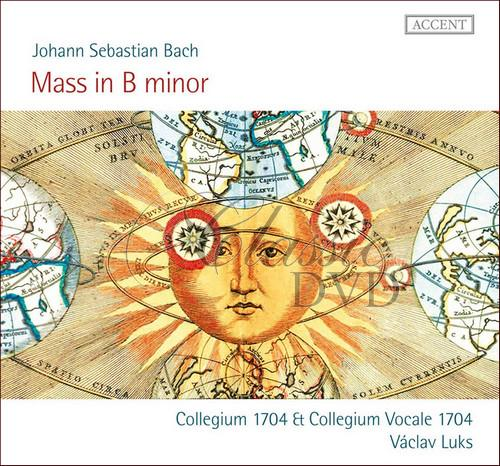 Bach, J S: Mass in B minor, BWV232.  Collegium Vocale 1704 & Collegium 1704, Václav Luks (2CD)