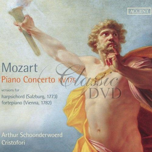 Mozart: Piano Concerto KV175. versions for harpsichord 1773 & fortepiano 1782 Cristofori (CD)
