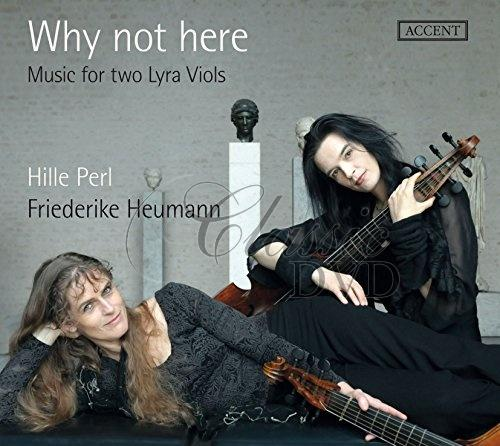 Why not here - Music for two Lyra Viols (CD)