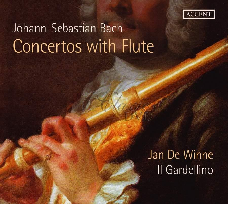 JS Bach: Concertos with Flute (CD)