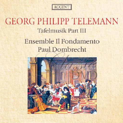 TELEMANN,G.P.: Tafelmusik Part III (CD)