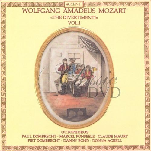 MOZART,W.A.: Divertimentos Vol. 1 - K. 213, 240, 252, 253, 270 and 289 (CD)