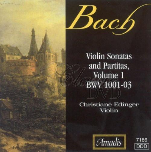 BACH,J.S.: Sonatas and Partitas for Solo Violin, Vol. 1 (CD)