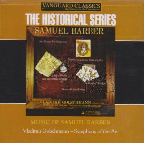 BARBER,S.: Symphony of the air (Golschmann) (CD)