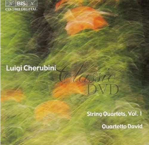 Cherubini - Complete String Quartets, Vol.1 (CD)