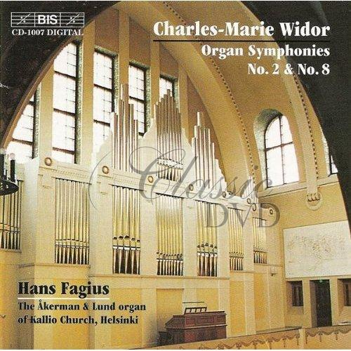WIDOR,Ch.-M.: Organ Symphonies No.2 & No.8 (CD)