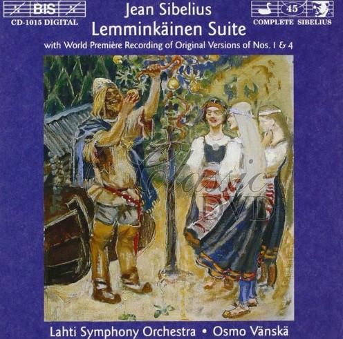 Sibelius - Lemminkäinen Suite, Op.22, Four Legends from the Kalevala (CD)