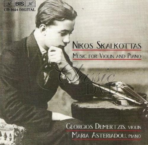 Skalkottas - Music for Violin and Piano (CD)