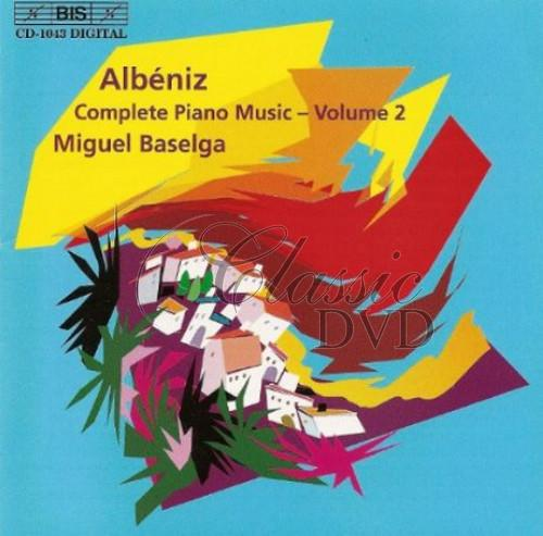 Albéniz - Piano Music, Vol. 2 (CD)