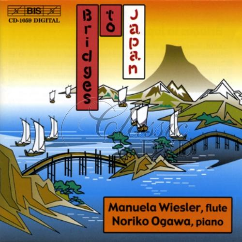 BRIDGES TO JAPAN: Music for Flute and Piano (CD)