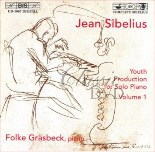 Sibelius - Youth Production for Solo Piano, Vol.1 (CD)