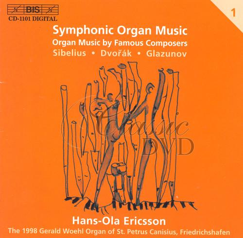 SYMPHONIC ORGAN MUSIC, Vol. 1 (CD)