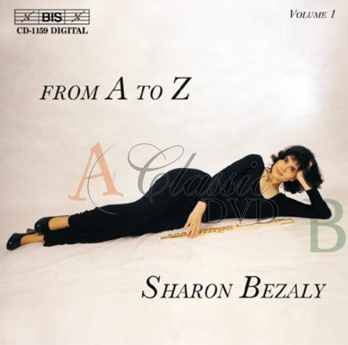 SHARON BEZALY: Solo Flute from A to Z - Vol.1 (CD)