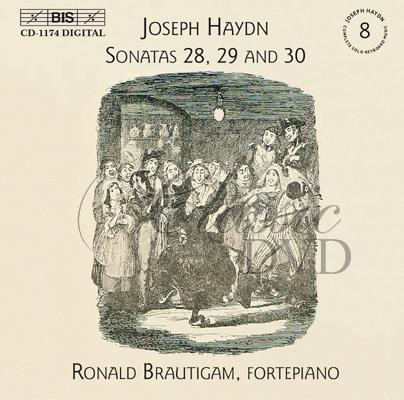 Haydn - Complete Solo Keyboard Music, Vol.8 (CD)