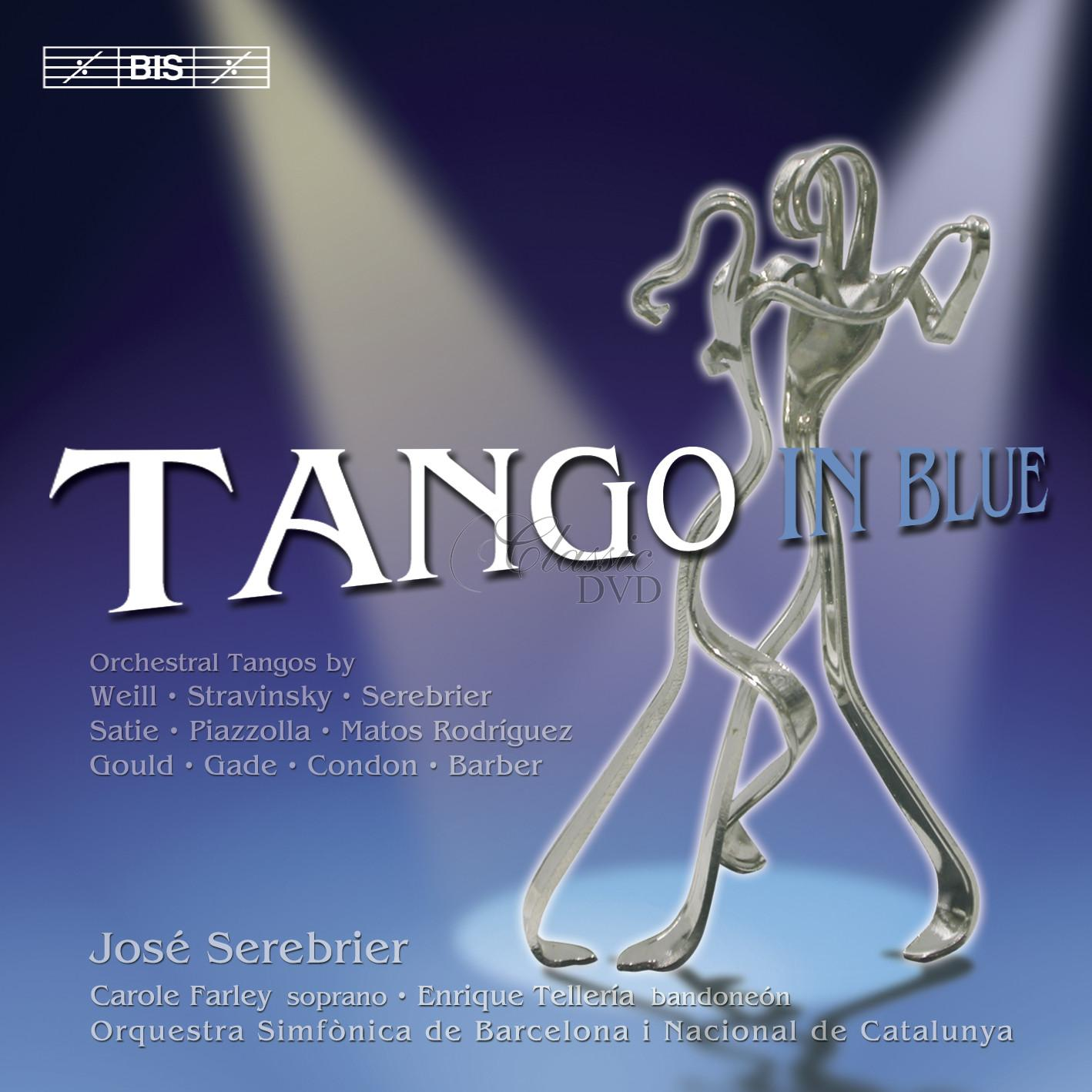Tango in Blue - Orchestral Tangos (CD)