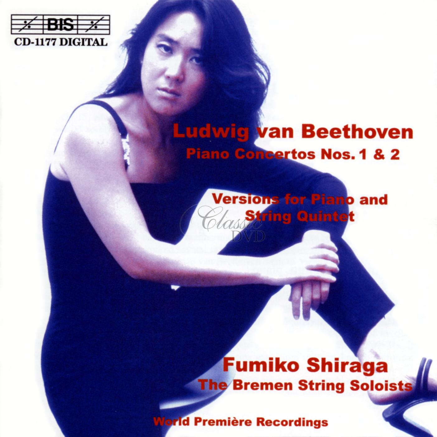 Beethoven - Piano Concertos Nos.1 & 2, Chamber Version (CD)