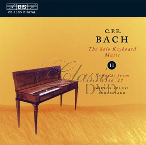C.P.E.BACH.: Solo Keyboard Music, Volume 11 (CD)