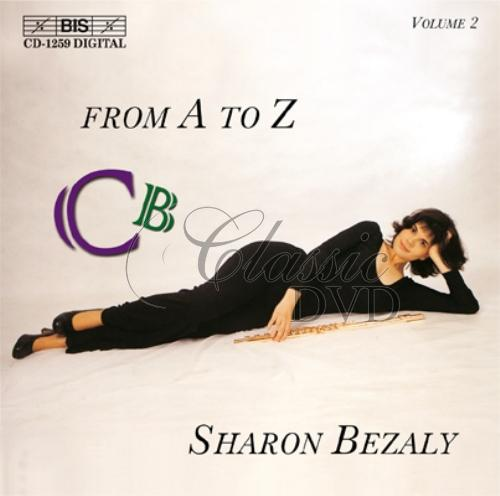 SHARON BEZALY: Solo Flute from A to Z - Vol.2 (CD)