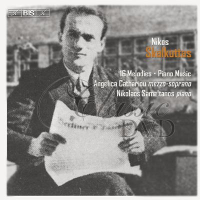 Skalkottas - 16 Melodies for mezzo-soprano and piano (CD)